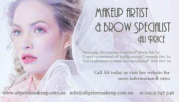 Ali Price Makeup