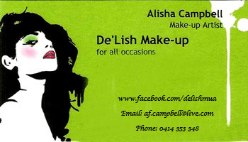 Alisha Campbell – De'Lish Make-up