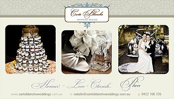 Carte Blanche Wedding Design