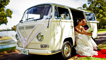 Vintage Wedding Kombi Service